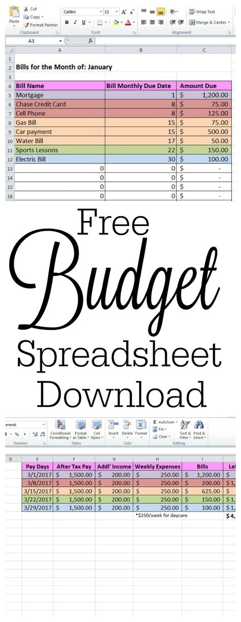 how a spreadsheet changed my life budgets are