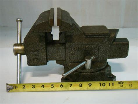 columbian bench vise columbian 5 1 2 quot bench vise b6 d66 made in usa