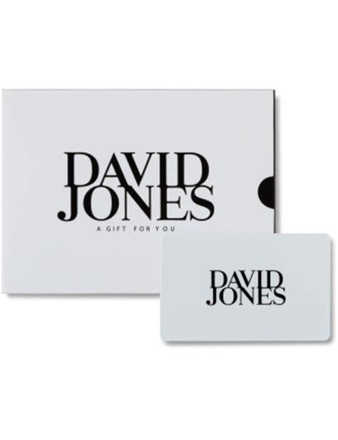 David Jones Gift Card - gift cards david jones