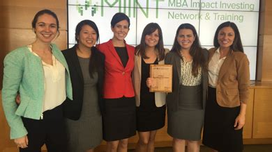 Wharton Mba Learning Team by Wharton Mba Impact Investing Network Miint