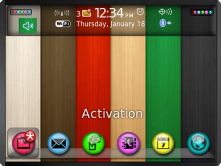 themes color download color pattern theme free blackberry mobile downloads