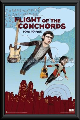 flight of the conchords in the room flight of the conchords poster framed f k memorabilia entertainment