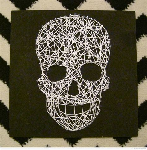 Skull String - skull string diy for string diy free