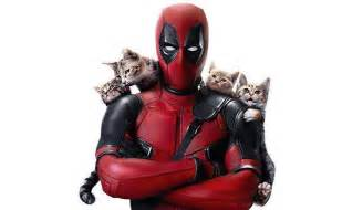 deadpool wishes happy caturday