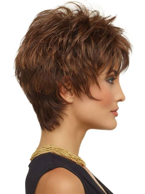 crop haircut with crown volume side 1 a classic short textured cut razored layers
