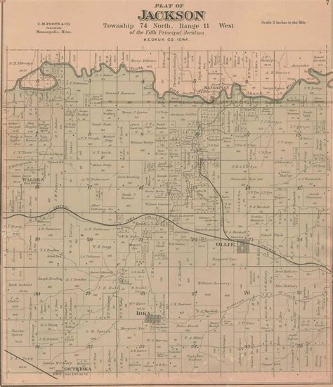 plat maps 1887 plat maps keokuk county of iowa