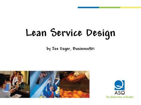 lean layout ppt lean service design presentation at asq service quality