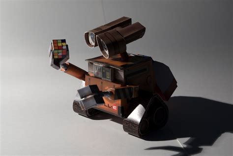Wall E Papercraft - papercraft wall e by soundracer on deviantart