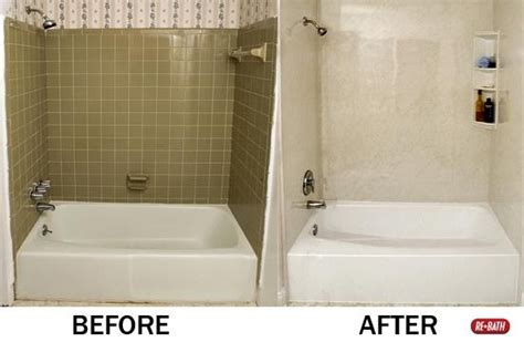 Bathroom Refinishing Boston Amazing Before And After So Much Better Rebath