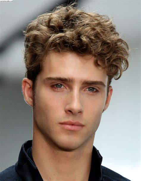 mens haircuts blonde curly curly hairstyles for men curly hairstyles curly and