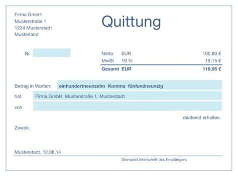 Muster Quittung Privatverkauf Numbers Vorlage Quittung Numbersvorlagen De