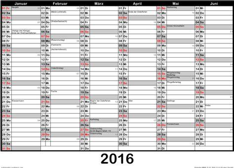Kalender 2016 Jahresplaner Jahreskalender 2015 Und 2016 F 252 R Nrw
