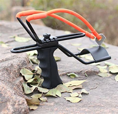 Tali Ketapel Slingshot Rubber Catapult sinoart high velocity adjustable stainless rocket slingshot profesional outdoor powerful