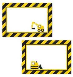 1000 images about construction birthday printables on