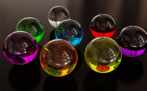 colorful glass wallpaper colorful glass spheres abstract