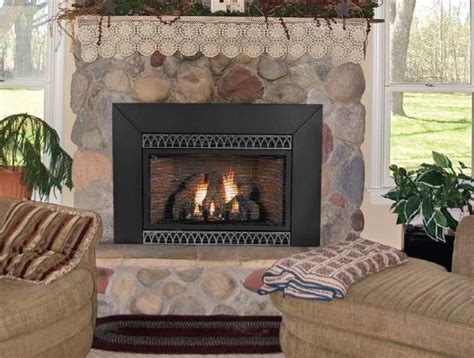 fireplace insert photos
