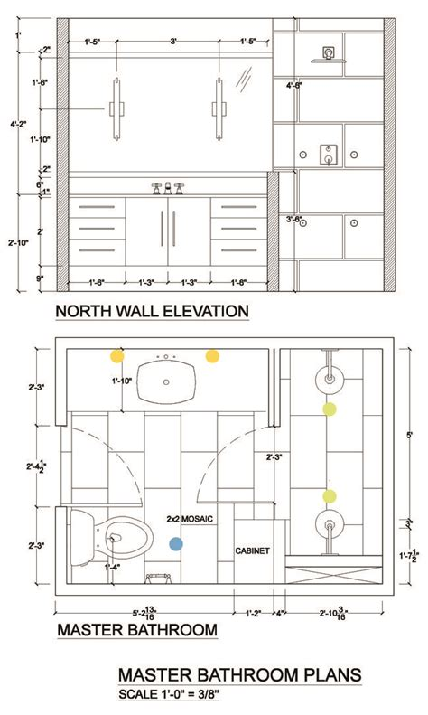 Bathroom Lighting Layout 23 Best Images About Elevaciones On Interior Architecture Drawing Microwave Sizes