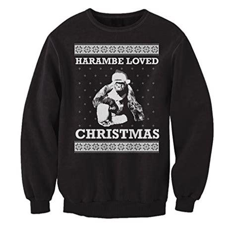 Sweater Harambe freshrags harambe loved sweater s