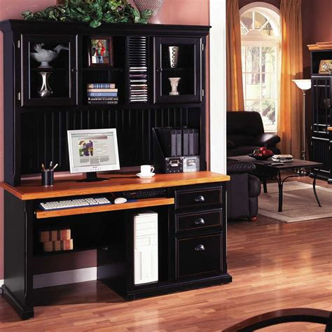 home office desks with hutch computer desks for home more efficient