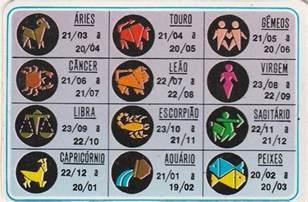 Signos Calendario Calend 225 Bolso 1998 Signos Aj7 R 1 90 Em Mercado