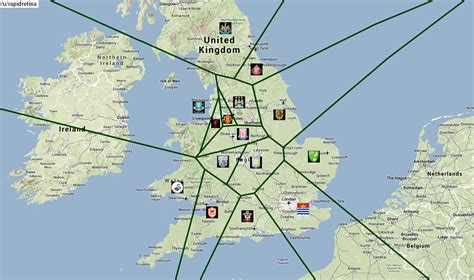 epl near me premier league football map shows the closest pl team to