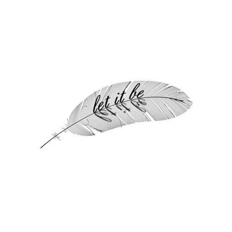 feather tattoo let it be sweettats let it be customizable feather from amazon