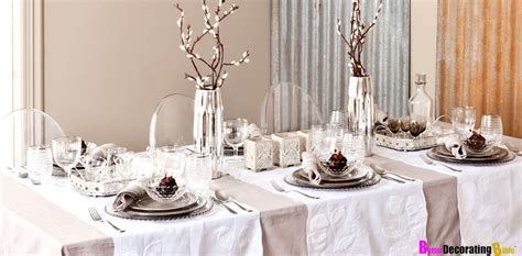 Winter Dining Room Table Decoration Ideas Stylish Ideas For Table D 233 Cor