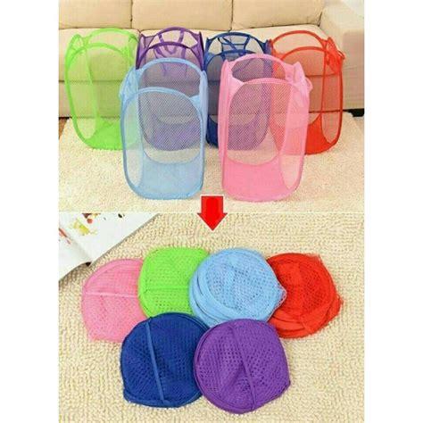 Keranjang Baju Kotor Laundry Bag kantong keranjang baju tempat pakaian kotor lipat laundry