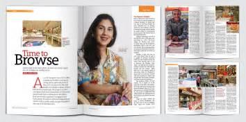 shoelace designs magazine layout design