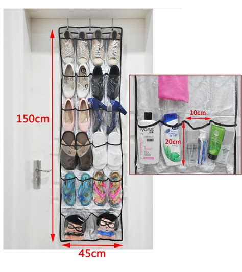 wall hanging shoe storage non woven shoe storage hanging bag shoe holders wall door