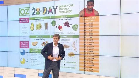 3 Day Detox Plan South Africa by The 28 Day Shrink Your Stomach Challenge Overview Dr Oz