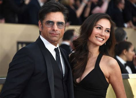john stamos with wives john stamos wife caitlin mchugh spend honeymoon at