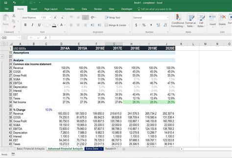 tutorial excel finance free excel crash course spreadsheet formulas training