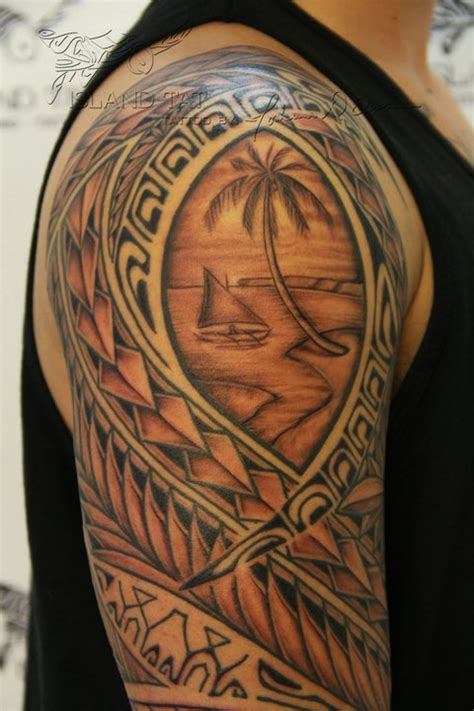 guam tribal tattoos guam seal tattoos seals and
