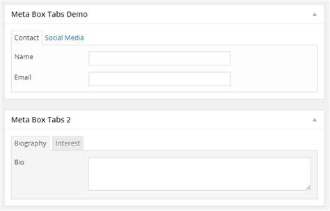wordpress layout meta box meta box tabs organize wordpress custom fields in tabs