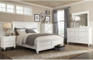 Cottage Style Bedroom Sets Bridgeport 6 Piece Queen Bedroom Set White The Brick