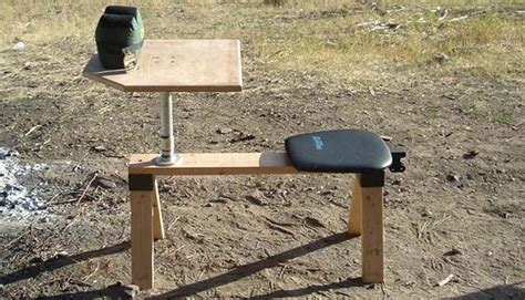 homemade portable shooting bench 1000 ideas about shooting targets on pinterest target