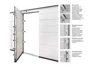 porte de garage sectionnelle h 246 rmann avec portillon