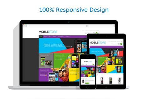 shopify themes mobile mobile store responsive shopify theme 48737