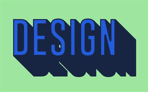 design a font in photoshop create a long shadow text effect in photoshop using layer