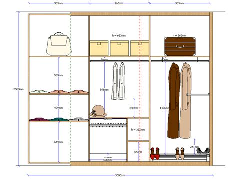 Wardrobe Drawing Software by Microcad Software Autoclosets The Closets Design Software