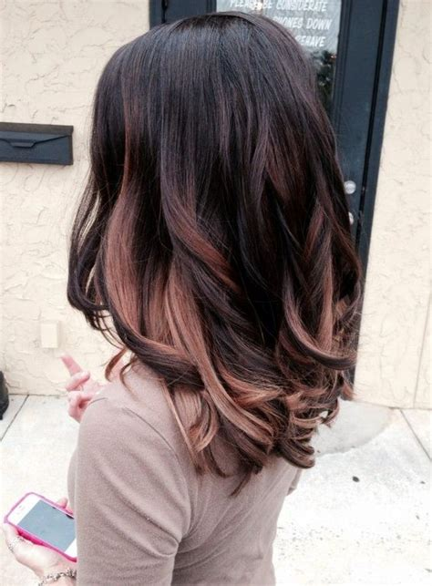 hairstyles with dark underneath pictures hair color ideas for summer