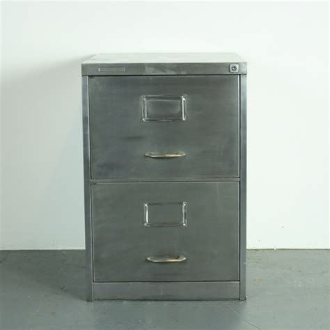 Metal 2 Drawer File Cabinet Vintage 2 Drawer Stripped Steel Filing Cabinet Lovely And Company