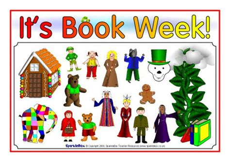 One Week Mba Book by Book Week Posters Sb1158 Sparklebox