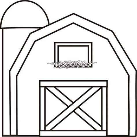 colouring pictures of barn google search farm