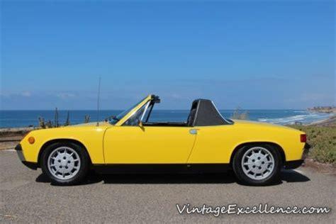 porsche 914 yellow buy used 1970 porsche 914 6 blue plate ca car matching s