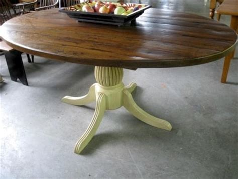 oval kitchen table rustic oval kitchen table with fluted pedestal farmhouse