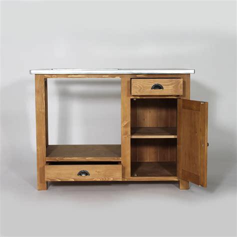 cuisine meubles meuble de cuisine en bois pour four et plaques cagne