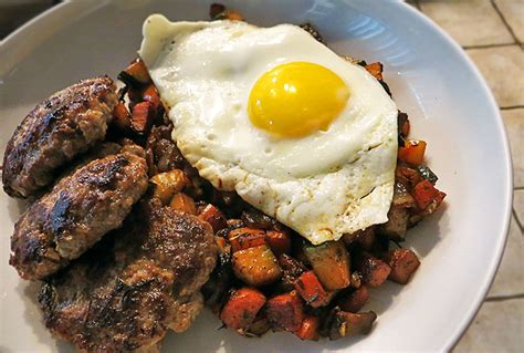 Handmade Breakfast - pork breakfast sausage simple classic