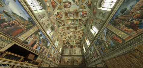 Sistine Chapel Ceiling Tour 360 by Feel Like You Re In Rome 360 Degree View Of The Sistine